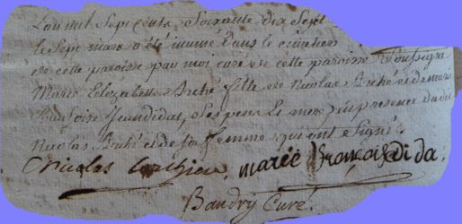 ARCHE Marie-Elisabeth dcd 07.03.1777