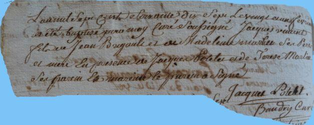 BRIGAULT Jacques Vincent né 21.02.1777