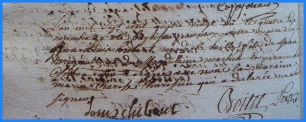 BRIGAULT Jean-Louis Hubert né 04.11.1781