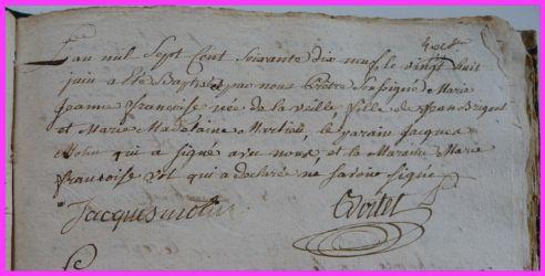 BRIGAULT Marie-Jeanne Françoise née 28.06.1779