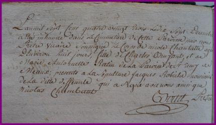 BRUYANT Nicole Chantal dcd 17.12.1783