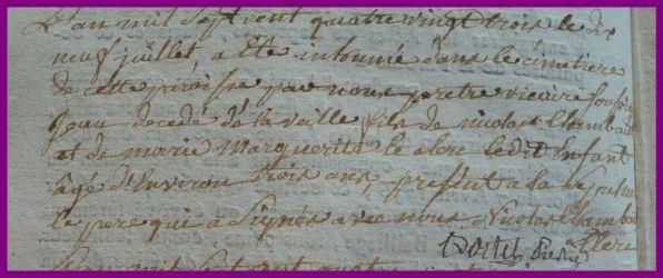 CHAMBAULT Jean dcd 18.07.1783