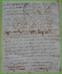 CHARTIER et PIERRE le 10.01.1774