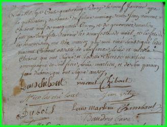 CHIBOUST et MERLIEU le 09.01.1792