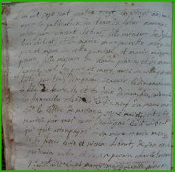 CHIBOUST et PINSON le 20.11.1780