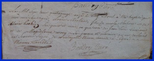 CHIBOUT Louis Nicolas né 05.04.1791