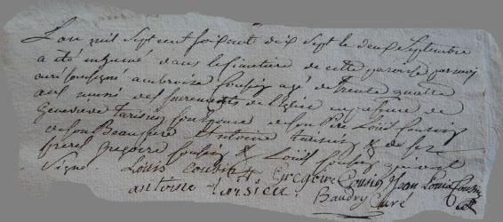 COUSIN Ambroise 1745-dcd 02.09.1777