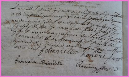 COUSIN Joséphine Geneviève née 10.10.1777