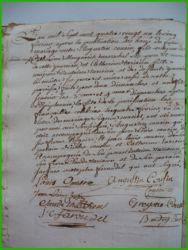 COUSIN et TARISIEN le 05.02.1781
