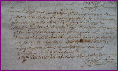 CROUPSALE Louis dcd 30.07.1783