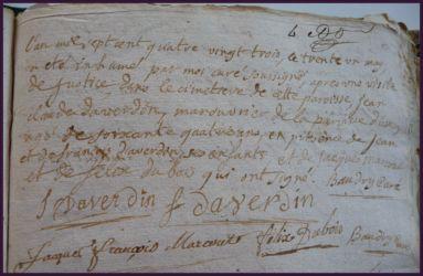 DAVERDIN Jean-Claude 64 ans dcd 31.05.1783