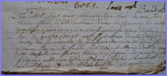 DEHAIN Jacques 1697-dcd 02.03.1778