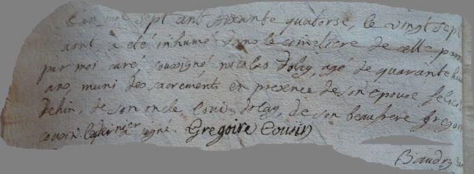 DOLLE Nicolas 1724-dcd 27.08.1774
