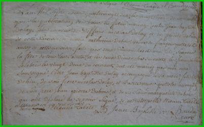 DOLLE et DUBOIS le 23.11.1790