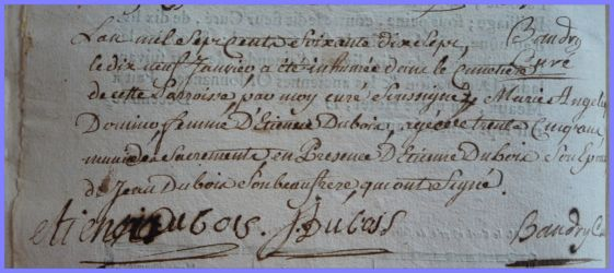 DOMINO Marie-Angélique 1738-dcd 19.01.1777