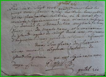 DOUAY et DEGLAND le 23.01.1788