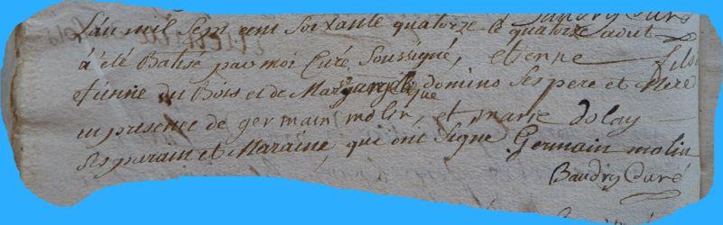 DUBOIS Etienne né 14.08.1774