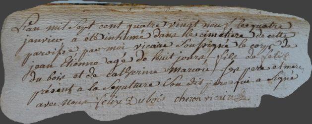 DUBOIS Jean-Etienne dcd 04.01.1789