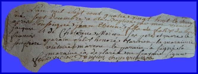 DUBOIS Jean-Etienne et Jacques François le 27.12.1788