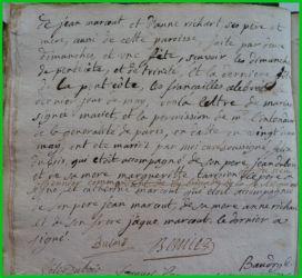 DUBOIS et MARCOUT N°2 le 01.06.1799