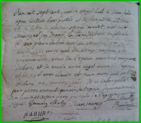 DUBOIS et MERY le 02.06.1788