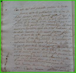 GIBERT et TARISIEN le 13.02.1774
