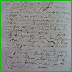 GILLARD et POTELET le 24.01.1784