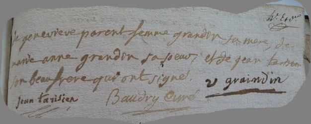 GRANDON Louis N°2 dcd 20.08.1788