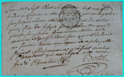 JACQUET Louis Modeste né 12.02.1779