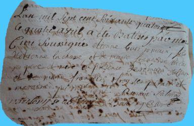LACHASSE Etienne Louis Romain né 04.04.1774