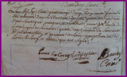 LANDROT Marguerite dcd 01.02.1792