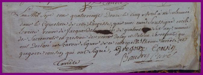 LEVRIERE Cécile dcd 05.04.1792