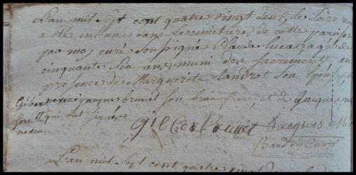 LUCAS Claude dcd 16.08.1782