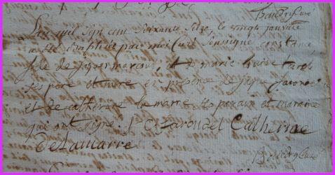 MARCOUT Constance née 20.01.1776