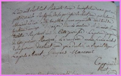 MARCOUT Jeanne Marguerite née 20.05.1773