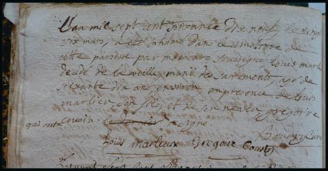 MERLIEU Louis 70 ans dcd 26.03.1779