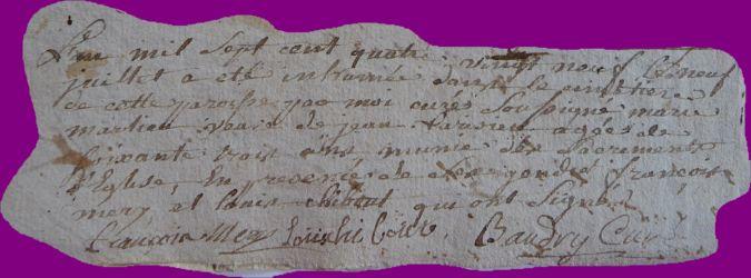 MERLIEU Marie dcd 09.07.1789