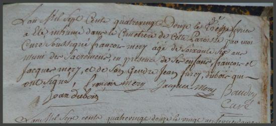 MERY François 66 ans dcd 13.02.1792