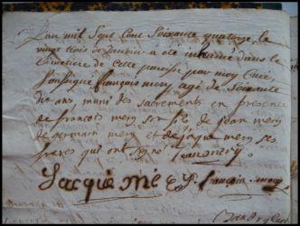 MERY François né 23.01.1774