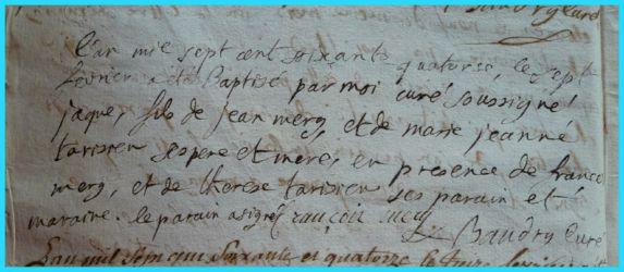 MERY Jacques né 07.02.1774