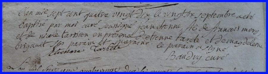 MERY Jean-Etienne né 26.09.1790