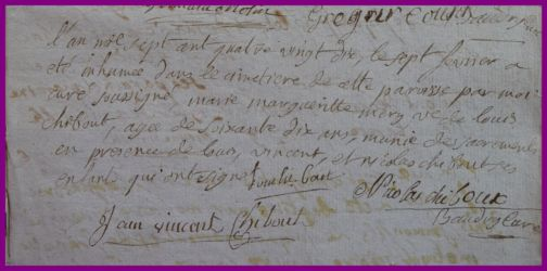 MERY Marie-Marguerite 70 ans dcd 07.02.1790