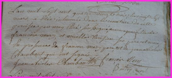 MERY Marie dcd 27.03.1783