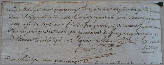 MERY Vincent 7 ans dcd 20.09.1790