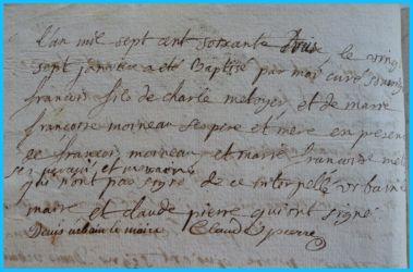 METOYER François né 27.01.1773