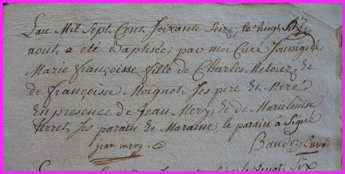 METOYER Marie-Françoise née 26.08.1776