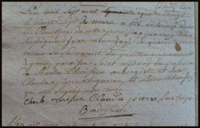 MINARD Jeane dcd 27.03.1780