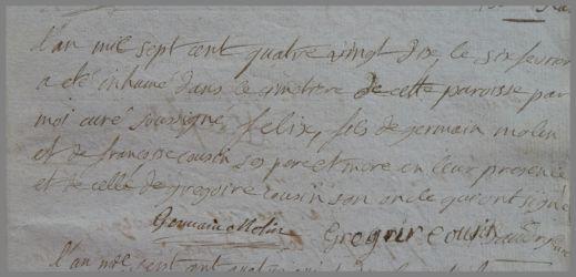 MOLIN Félix dcd 06.02.1790