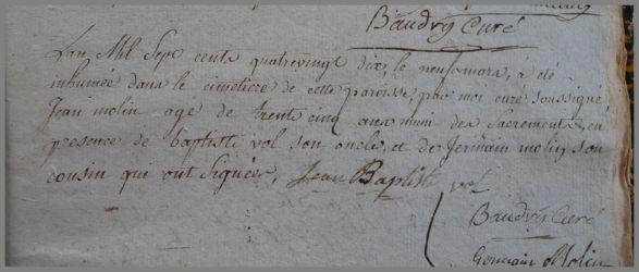 MOLIN Jean dcd 09.03.1790