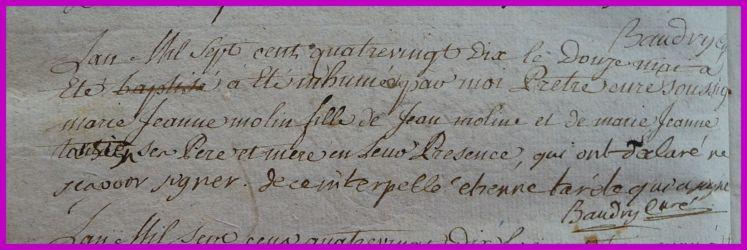 MOLIN Marie-Jeanne dcd 12.05.1790